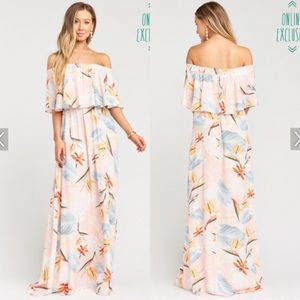 NWOT Show Me Your MuMu Hacienda Maxi Dress